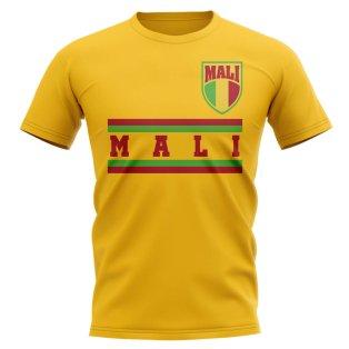 Mali Core Football Country T-Shirt (Yellow)
