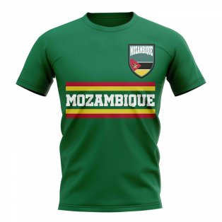 Mozambique Core Football Country T-Shirt (Green)