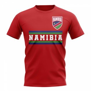 Namibia Core Football Country T-Shirt (Red)