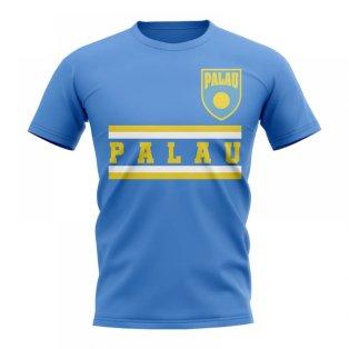 Palau Core Football Country T-Shirt (Sky)