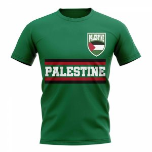 Palestine Core Football Country T-Shirt (Green)