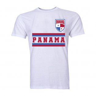 Panama Core Football Country T-Shirt (White)