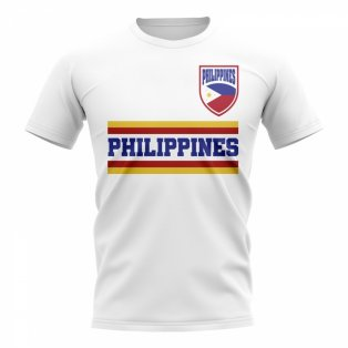 Philippines Core Football Country T-Shirt (White)