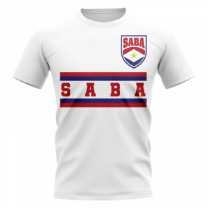 Saba Core Football Country T-Shirt (White)