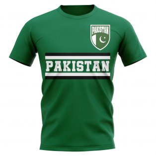 Pakistan Core Football Country T-Shirt (Green)