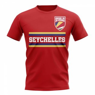 Seychelles Core Football Country T-Shirt (Red)