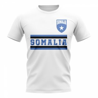 Somalia Core Football Country T-Shirt (White)