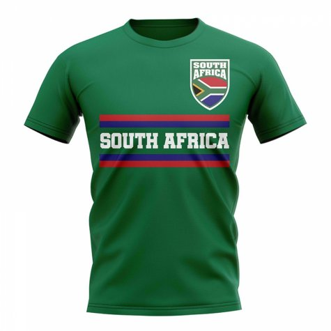 South Africa Core Football Country T-Shirt (Green)