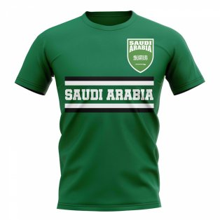 Saudi Arabia Core Football Country T-Shirt (Green)