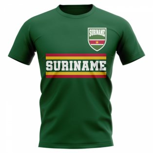 Suriname Core Football Country T-Shirt (Green)