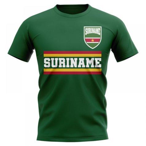 Suriname Core Football Country T-Shirt (Green)