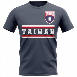 Taiwan Core Football Country T-Shirt (Navy)