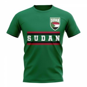 Sudan Core Football Country T-Shirt (Green)
