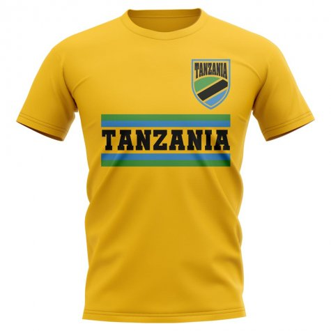 Tanzania Core Football Country T-Shirt (Navy)
