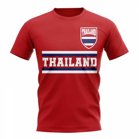 Thailand Core Football Country T-Shirt (Red)