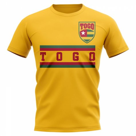 Togo Core Football Country T-Shirt (Yellow)