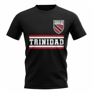 Trinidad and Tobago Core Football Country T-Shirt (Black)