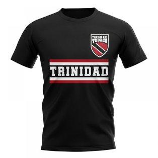 Trinidad and Tobago Core Football Country T-Shirt (Black)
