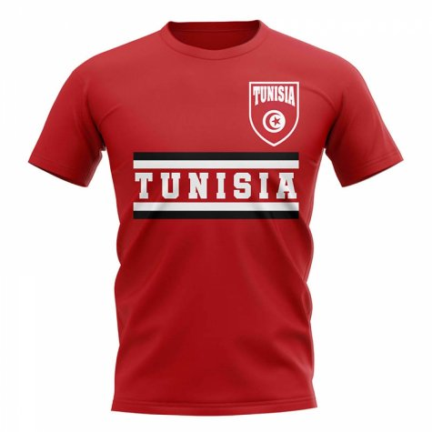 Tunisia Core Football Country T-Shirt (Red)