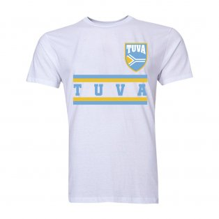 Tuva Core Football Country T-Shirt (White)