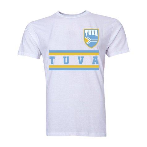 Tuva Core Football Country T-Shirt (White)