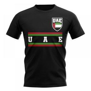 UAE Core Football Country T-Shirt (Black)