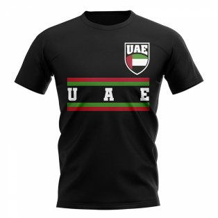 UAE Core Football Country T-Shirt (Black)