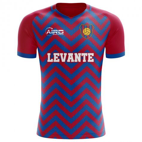 2018-2019 Levante Home Concept Football Shirt
