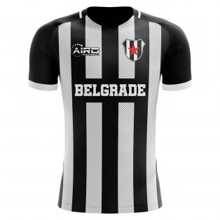2020-2021 Partizan Belgrade Home Concept Football Shirt