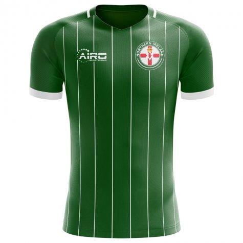 2018-2019 Northern Ireland Home Concept Football Shirt - Womens