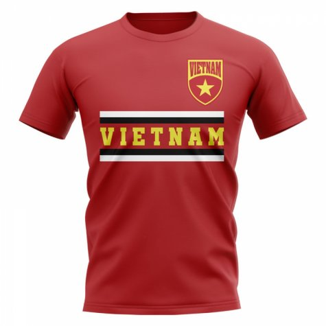 Vietnam Core Football Country T-Shirt (Red)