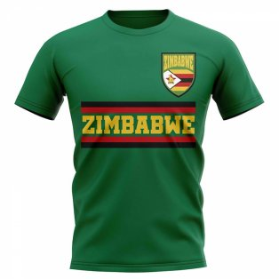 Zimbabwe Core Football Country T-Shirt (Green)