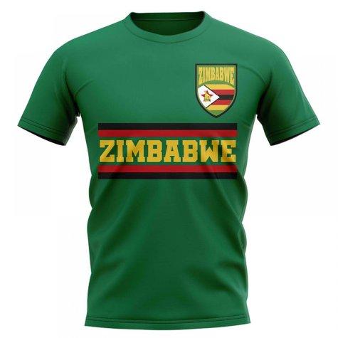 Zimbabwe Core Football Country T-Shirt (Green)