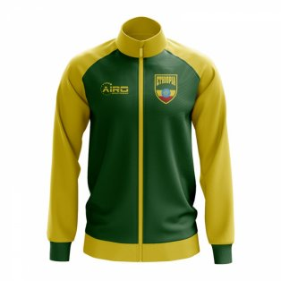 Ethiopia Concept Football Track Jacket (Green)