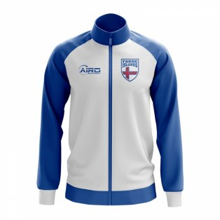 Faroe Islands Concept Football Track Jacket (White)