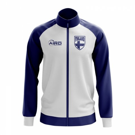 Finland Concept Football Track Jacket (White)