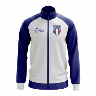 France Concept Football Track Jacket (White)
