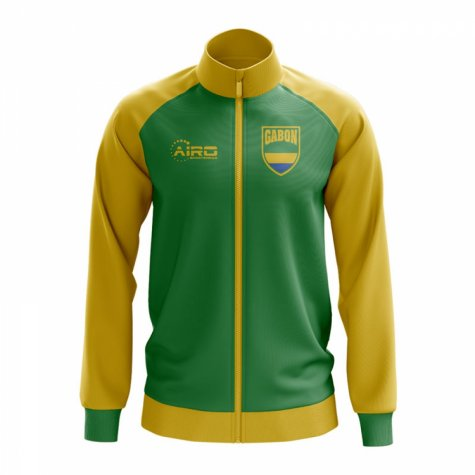 Gabon Concept Football Track Jacket (Green)