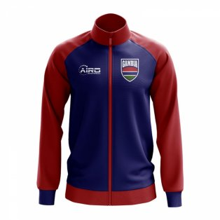 Gambia Concept Football Track Jacket (Blue)
