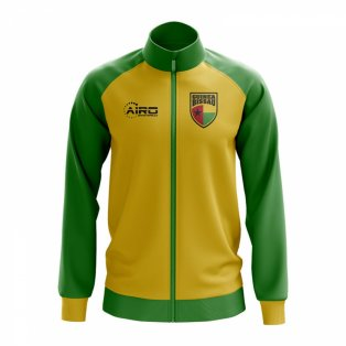 Guinea Bissau Bissau Concept Football Track Jacket (Yellow)