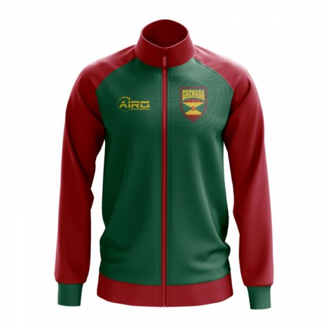 Grenada Concept Football Track Jacket (Green)