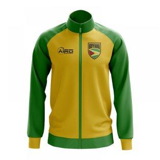 Guyana Concept Football Track Jacket (Yellow)