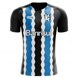 2018-2019 Gremio Fans Culture Home Concept Shirt - Little Boys