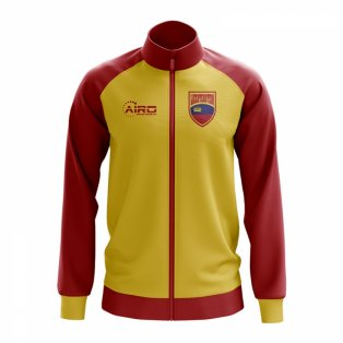 Liechtenstein Concept Football Track Jacket (Yellow)