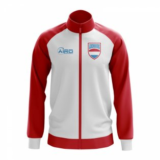 Luxembourg Concept Football Track Jacket (White)