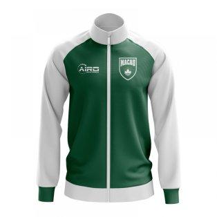 Macau Concept Football Track Jacket (Green)