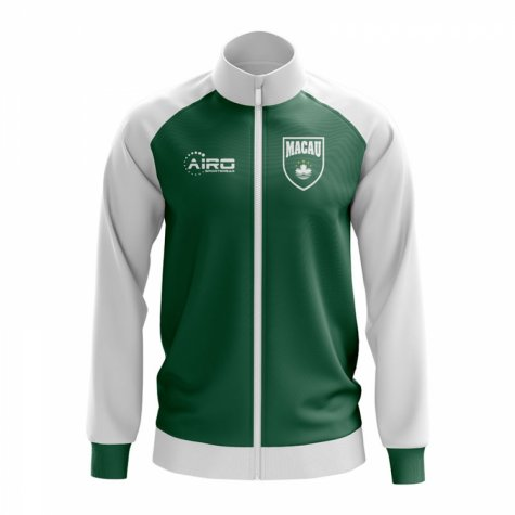 Macau Concept Football Track Jacket (Green)