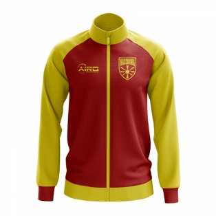 Macedonia Concept Football Track Jacket (Red)