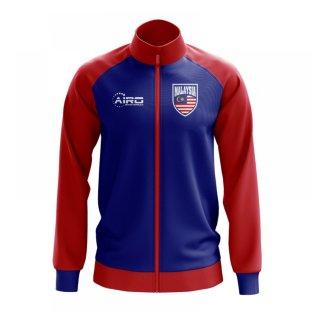 Malaysia Concept Football Track Jacket (Blue)