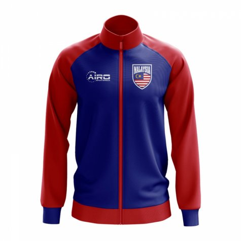 Malaysia Concept Football Track Jacket (Blue)